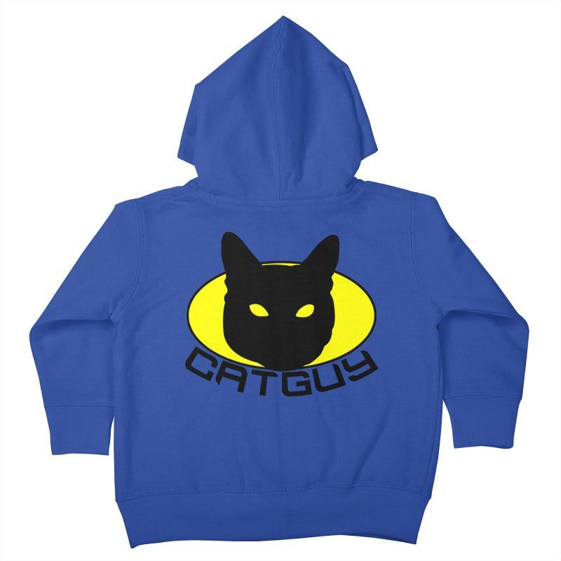 CAT-GUY! Kids Toddler Zip-Up Hoody by Stevie Richards Artist Shop