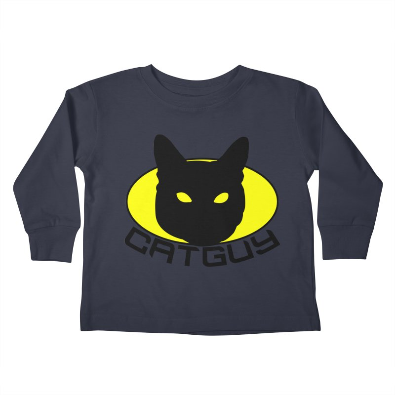 CAT-GUY! Kids Toddler Longsleeve T-Shirt by Stevie Richards Artist Shop