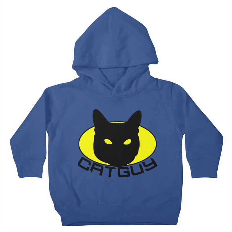 CAT-GUY! Kids Toddler Pullover Hoody by Stevie Richards Artist Shop