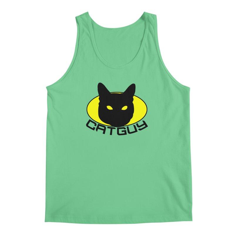 CAT-GUY! Men's Regular Tank by Stevie Richards Artist Shop