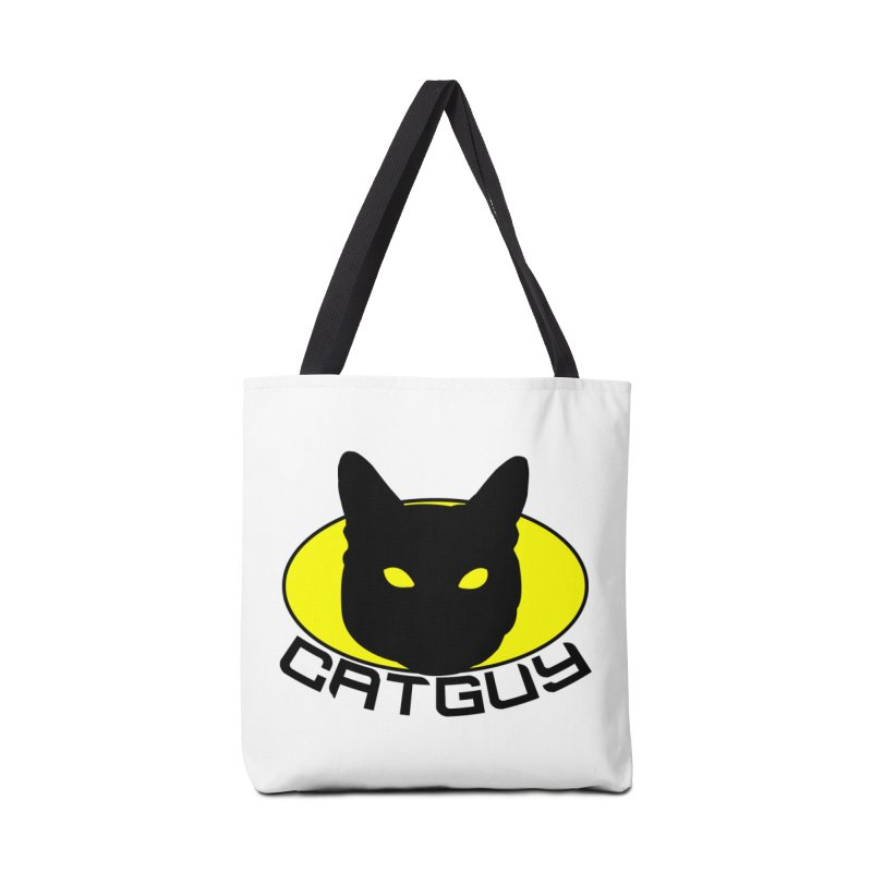 CAT-GUY! Accessories Tote Bag Bag by Stevie Richards Artist Shop