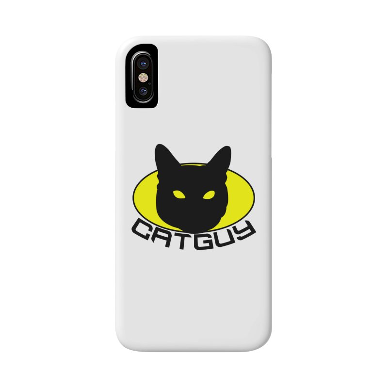 CAT-GUY! Accessories Phone Case by Stevie Richards Artist Shop