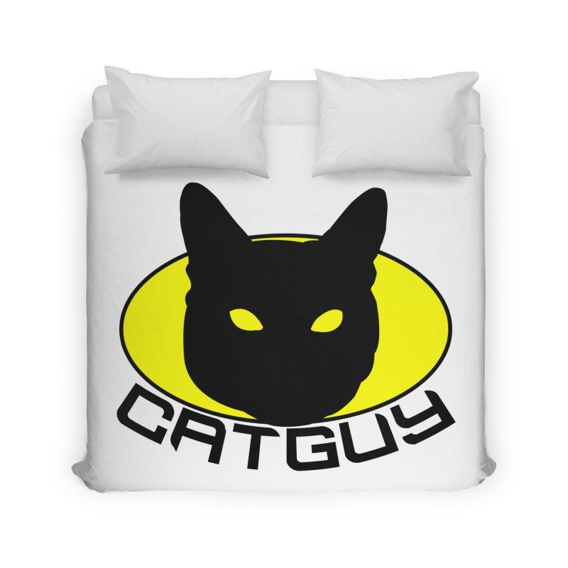 CAT-GUY! Home Duvet by Stevie Richards Artist Shop