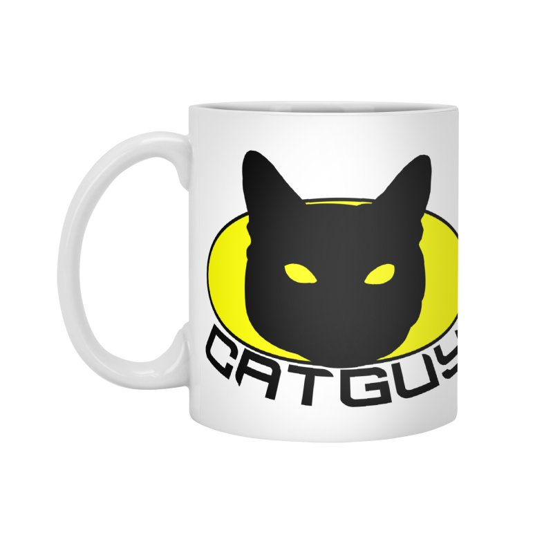 CAT-GUY! Accessories Mug by Stevie Richards Artist Shop