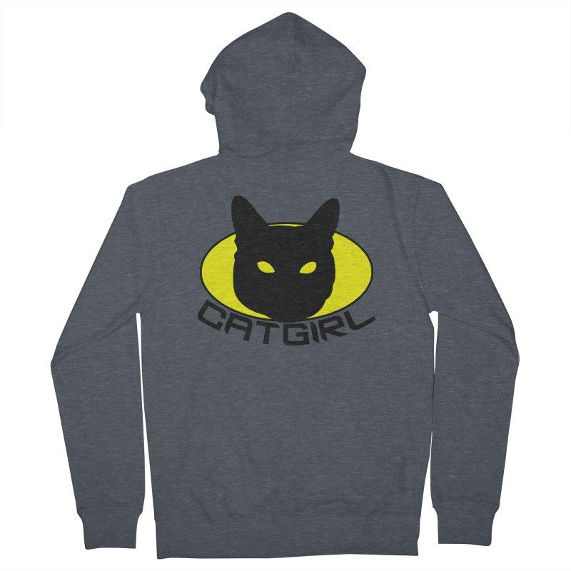 CAT-GIRL! Men's Zip-Up Hoody by Stevie Richards Artist Shop