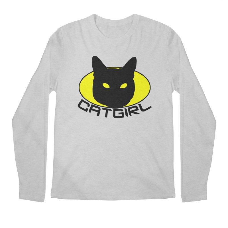 CAT-GIRL! Men's Regular Longsleeve T-Shirt by Stevie Richards Artist Shop