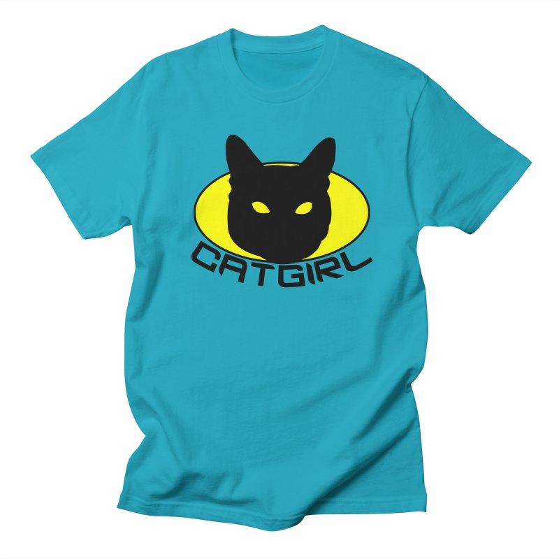 CAT-GIRL! Women's Regular Unisex T-Shirt by Stevie Richards Artist Shop