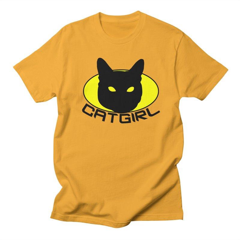 CAT-GIRL! Men's T-Shirt by Stevie Richards Artist Shop