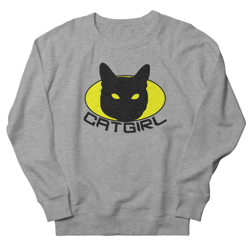 CAT-GIRL! Women's Sweatshirt by Stevie Richards Artist Shop