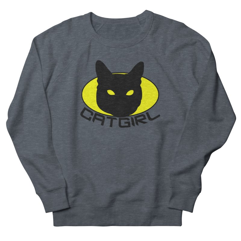 CAT-GIRL! Men's Sweatshirt by Stevie Richards Artist Shop
