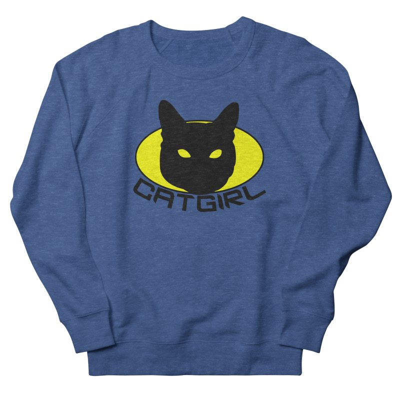 CAT-GIRL! Men's French Terry Sweatshirt by Stevie Richards Artist Shop