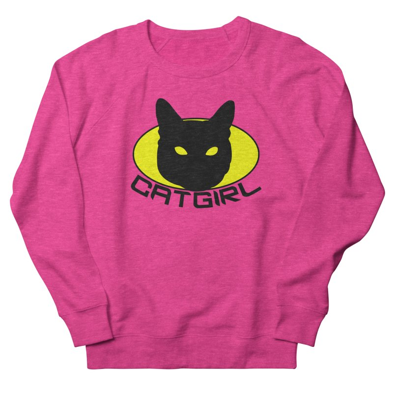 CAT-GIRL! Men's Sweatshirt by Stevie Richards Artist Shop