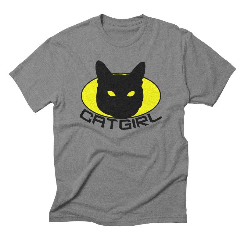 CAT-GIRL! Men's Triblend T-Shirt by Stevie Richards Artist Shop