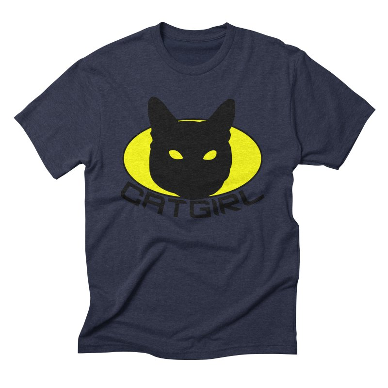 CAT-GIRL! Men's Triblend T-shirt by Stevie Richards Artist Shop