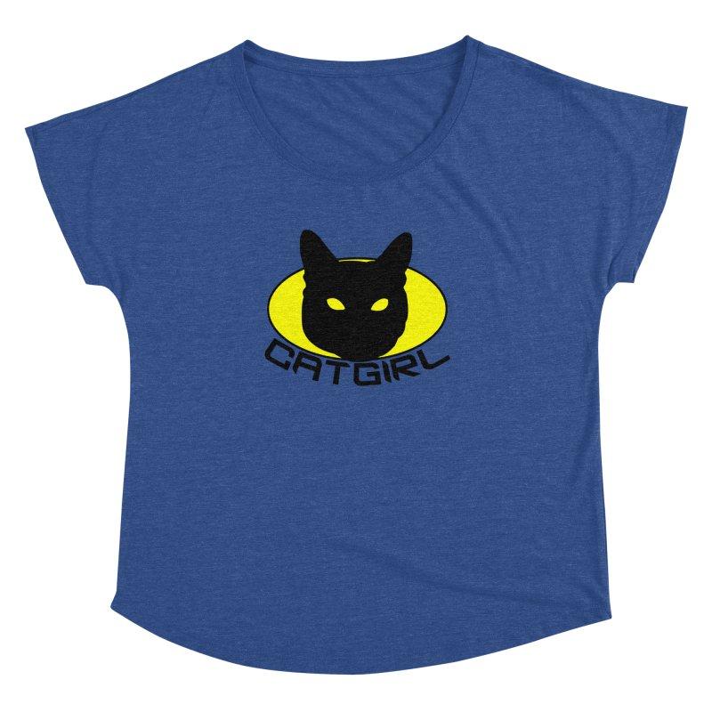 CAT-GIRL! Women's Dolman by Stevie Richards Artist Shop