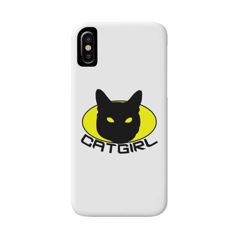 CAT-GIRL! Accessories Phone Case by Stevie Richards Artist Shop