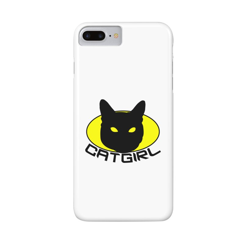 CAT-GIRL! Accessories Phone Case by Stevie Richards Artist Shop
