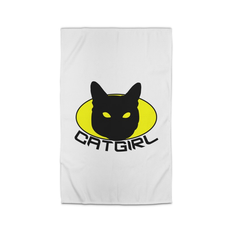 CAT-GIRL! Home Rug by Stevie Richards Artist Shop