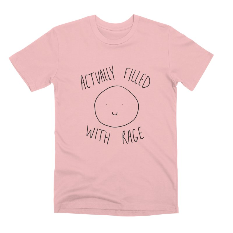 Actually Filled With Rage Men's Premium T-Shirt by Stick Figure Girl Stuff