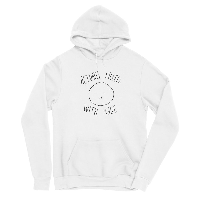Actually Filled With Rage Women's Pullover Hoody by Stick Figure Girl Stuff