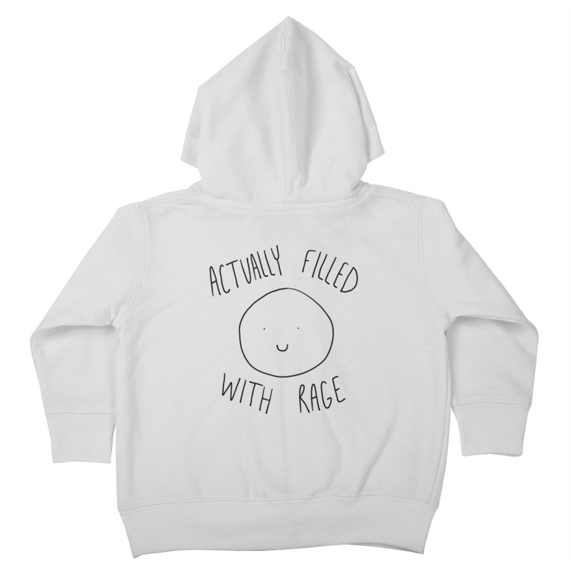 Actually Filled With Rage Kids Toddler Zip-Up Hoody by Stick Figure Girl Stuff