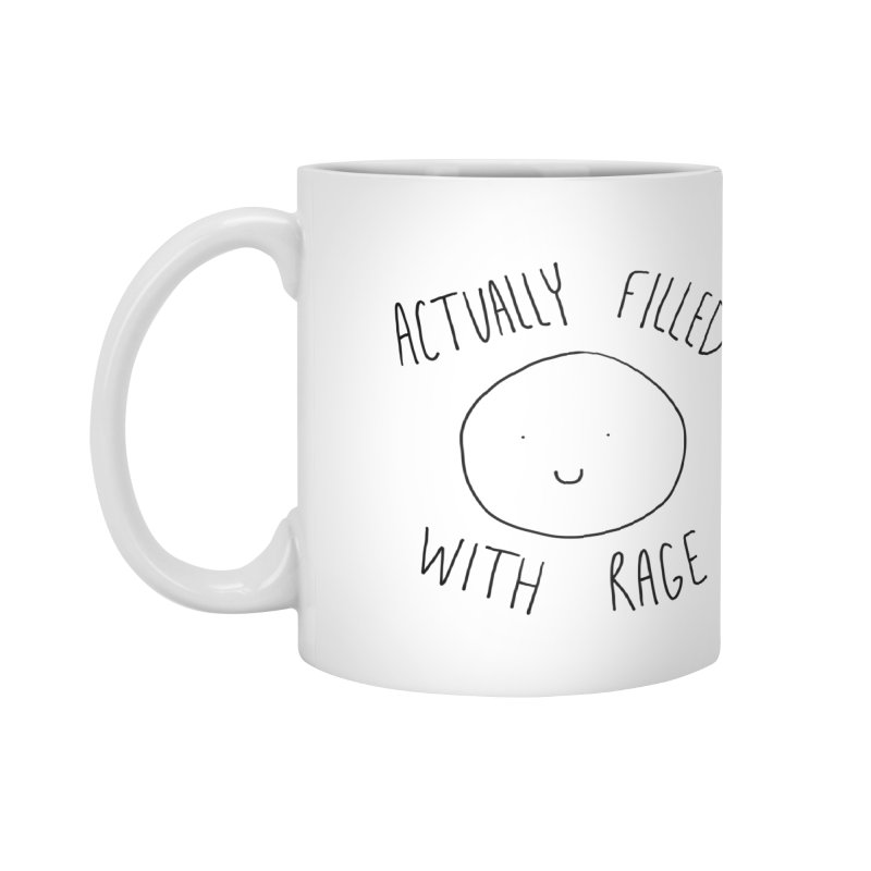 Actually Filled With Rage Accessories Mug by Stick Figure Girl Stuff