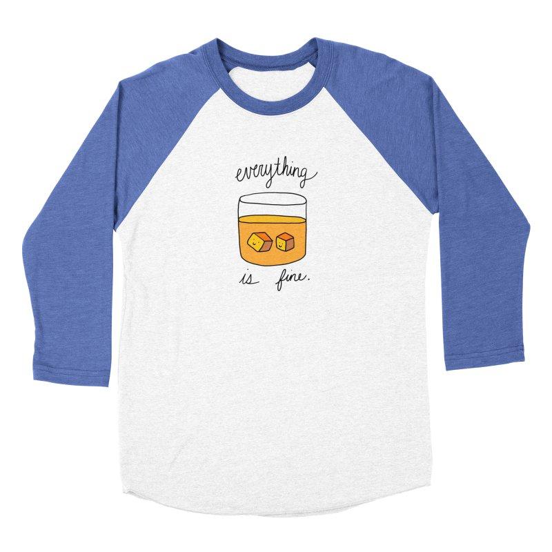 Everything is fine. Men's Longsleeve T-Shirt by Stick Figure Girl Stuff