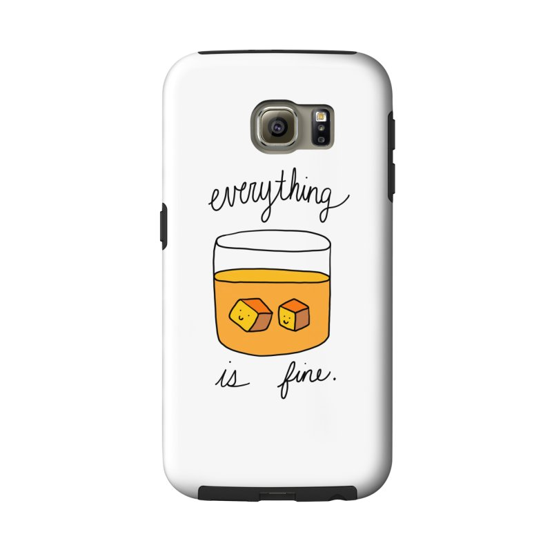 Everything is fine. Accessories Phone Case by Stick Figure Girl Stuff