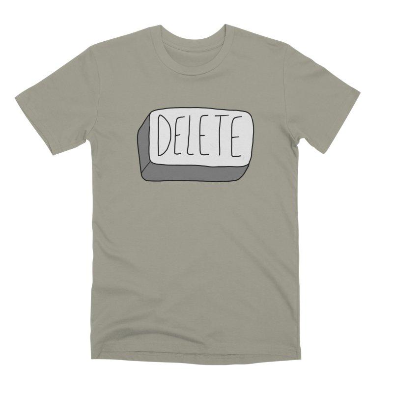 Delete Key Men's Premium T-Shirt by Stick Figure Girl Stuff