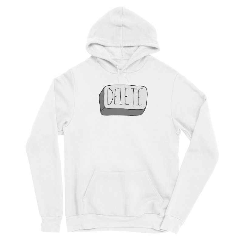 Delete Key Women's Pullover Hoody by Stick Figure Girl Stuff