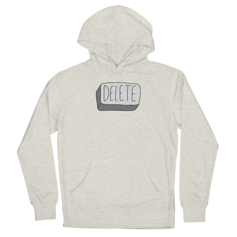 Delete Key Men's Pullover Hoody by Stick Figure Girl Stuff