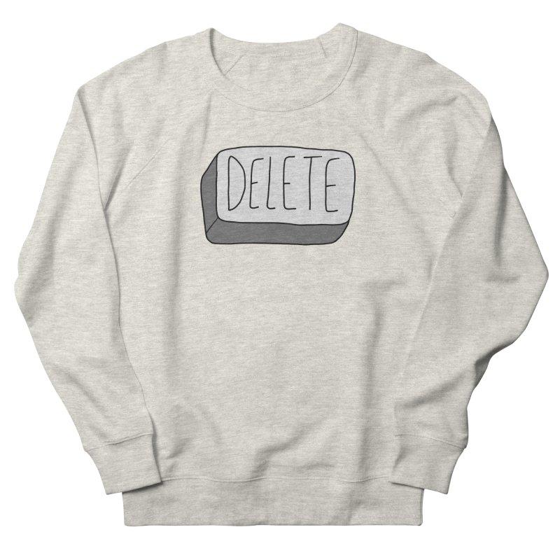 Delete Key Women's Sweatshirt by Stick Figure Girl Stuff
