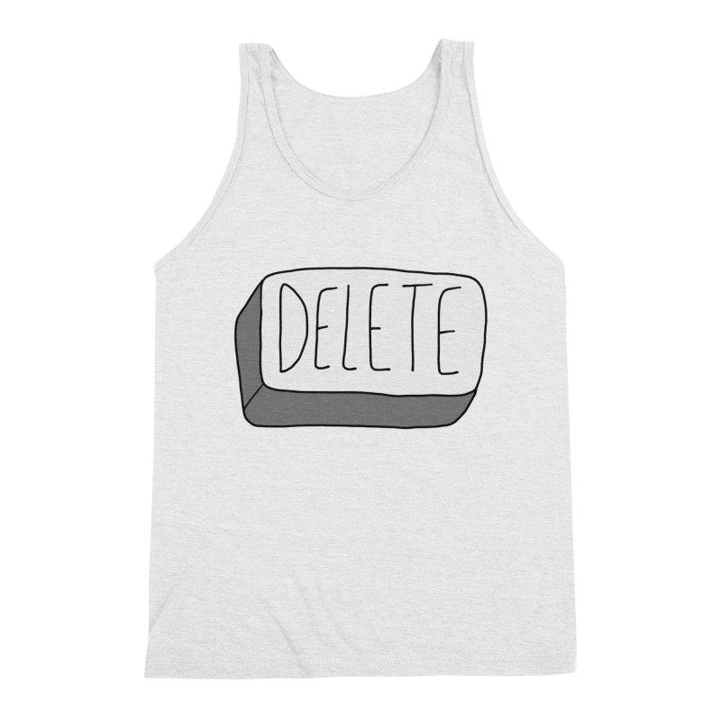 Delete Key Men's Tank by Stick Figure Girl Stuff