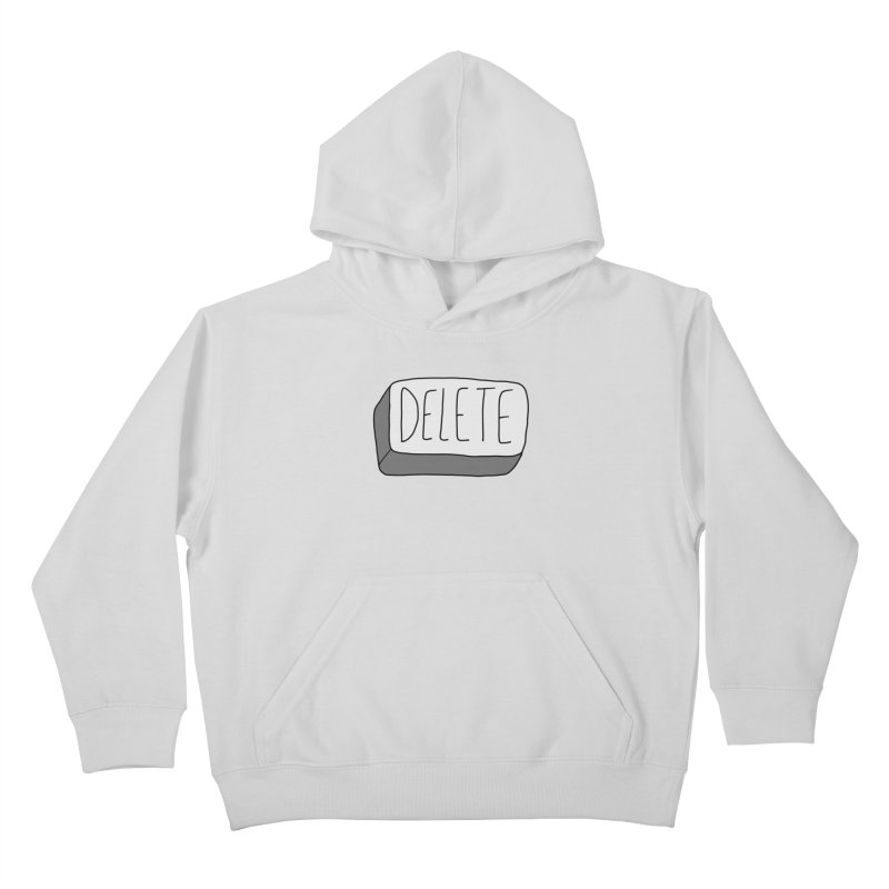 Delete Key Kids Pullover Hoody by Stick Figure Girl Stuff