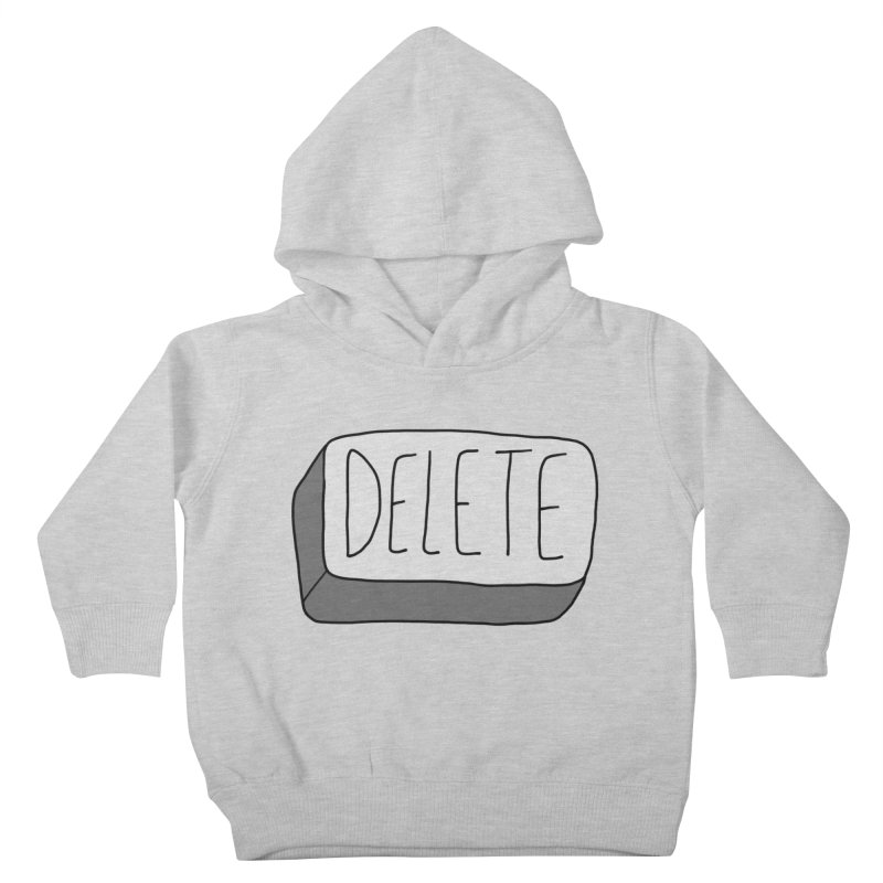 Delete Key Kids Toddler Pullover Hoody by Stick Figure Girl Stuff