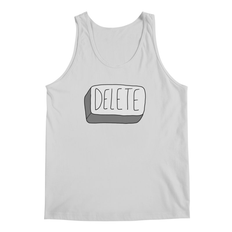Delete Key Men's Regular Tank by Stick Figure Girl Stuff