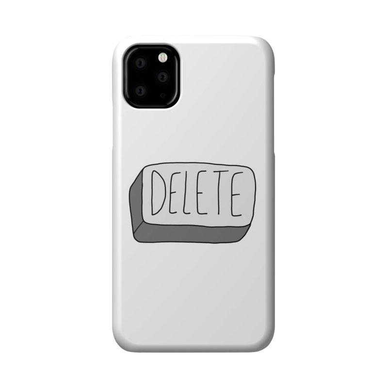Delete Key Accessories Phone Case by Stick Figure Girl Stuff