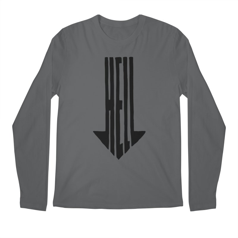 STRAIGHT TO HELL Men's Longsleeve T-Shirt by stickysyrups's Artist Shop