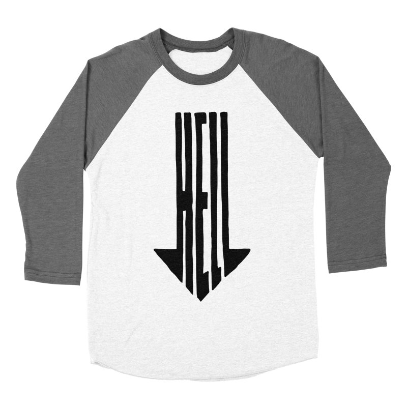 STRAIGHT TO HELL Men's Baseball Triblend T-Shirt by stickysyrups's Artist Shop