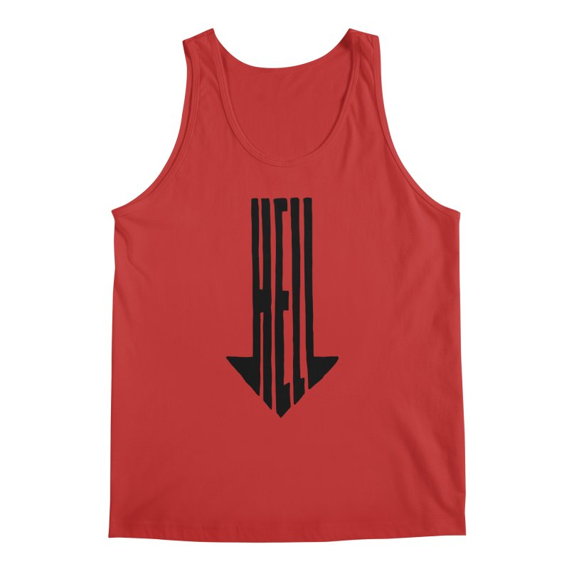 STRAIGHT TO HELL Men's Regular Tank by stickysyrups's Artist Shop
