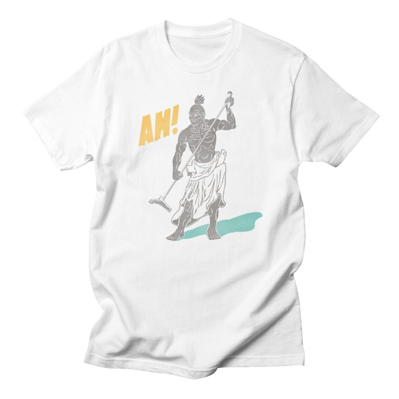 AH! Men's Regular T-Shirt by stickysyrups's Artist Shop