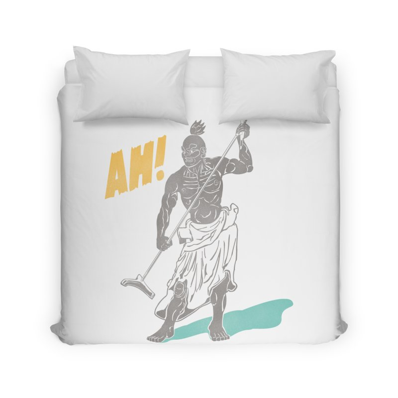 AH! Home Duvet by stickysyrups's Artist Shop