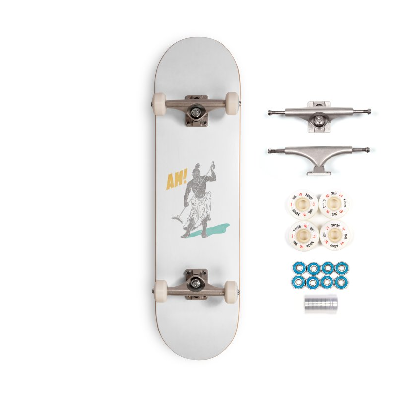 AH! Accessories Complete - Premium Skateboard by stickysyrups's Artist Shop