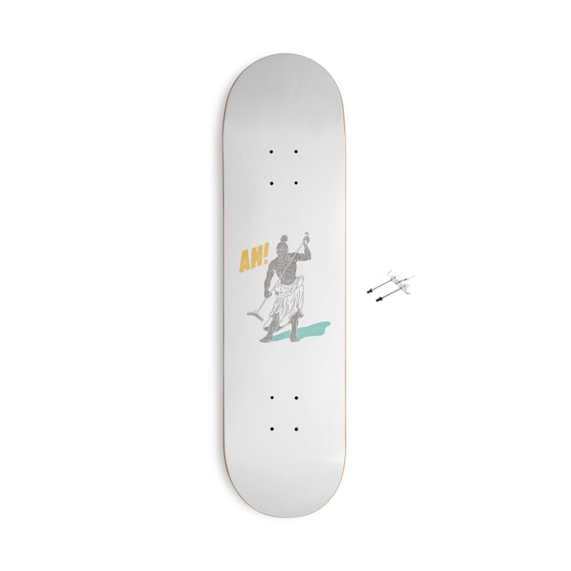 AH! Accessories With Hanging Hardware Skateboard by stickysyrups's Artist Shop