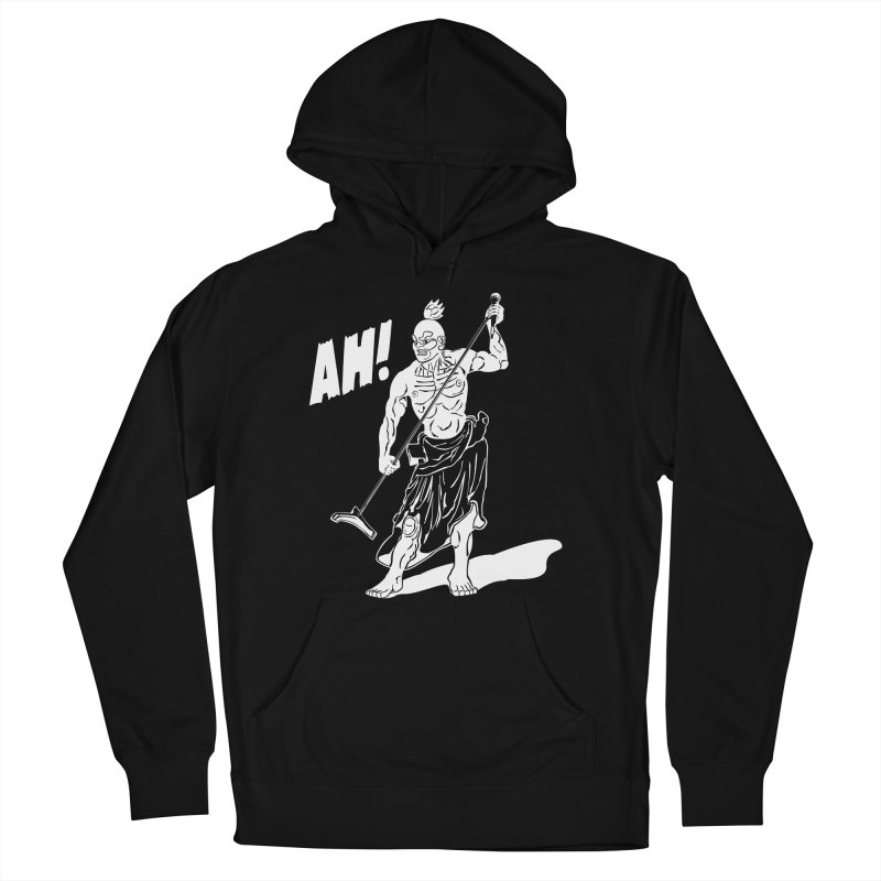 AH! Men's French Terry Pullover Hoody by stickysyrups's Artist Shop