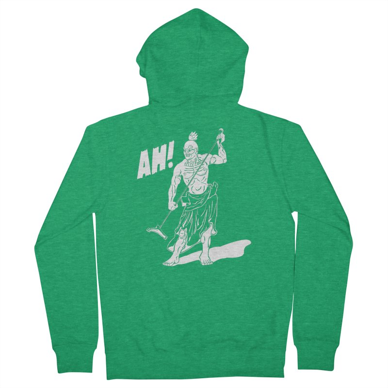 AH! Men's French Terry Zip-Up Hoody by stickysyrups's Artist Shop