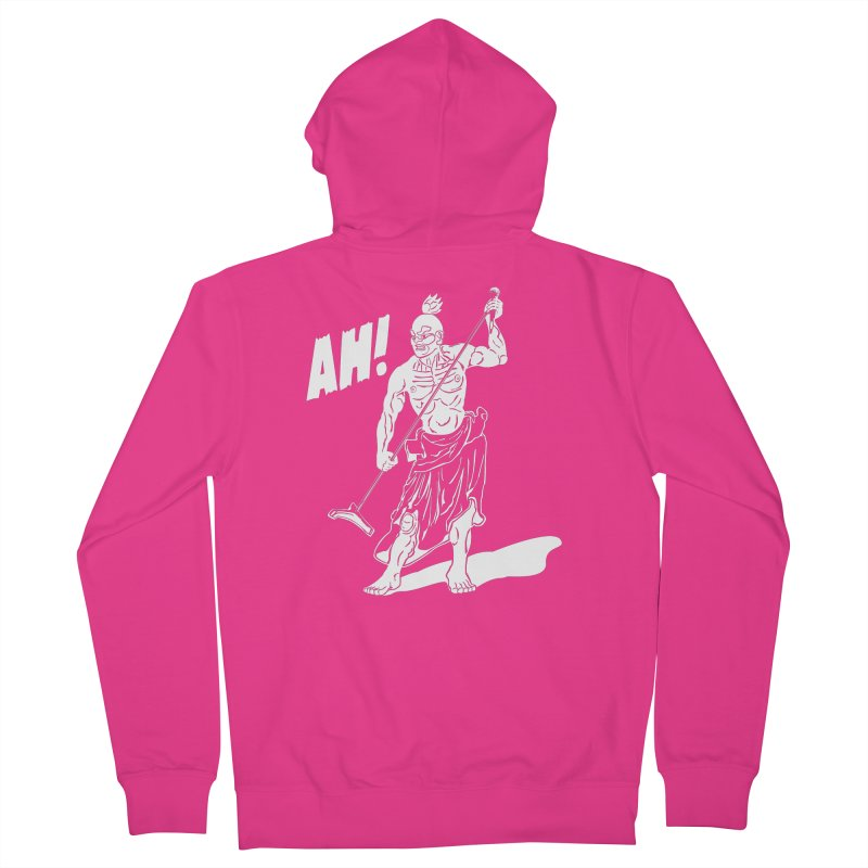 AH! Men's Zip-Up Hoody by stickysyrups's Artist Shop