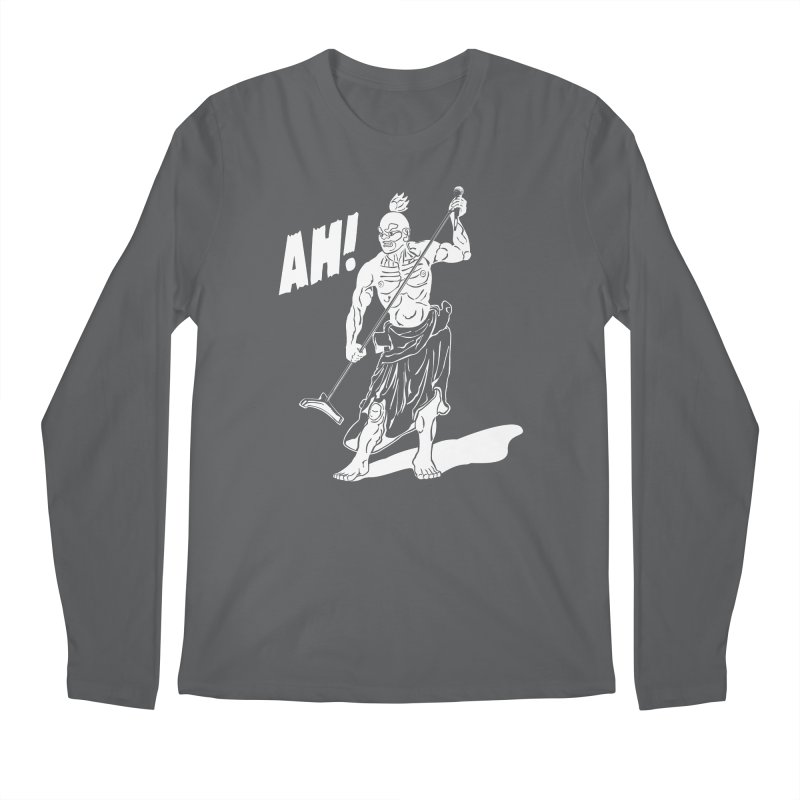 AH! Men's Regular Longsleeve T-Shirt by stickysyrups's Artist Shop