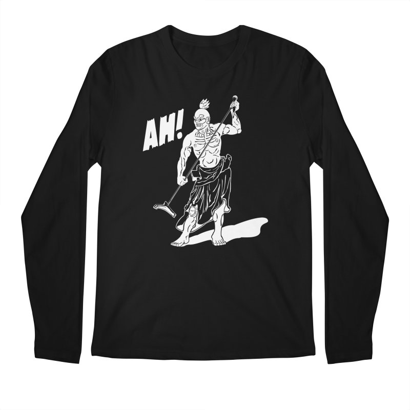 AH! Men's Longsleeve T-Shirt by stickysyrups's Artist Shop