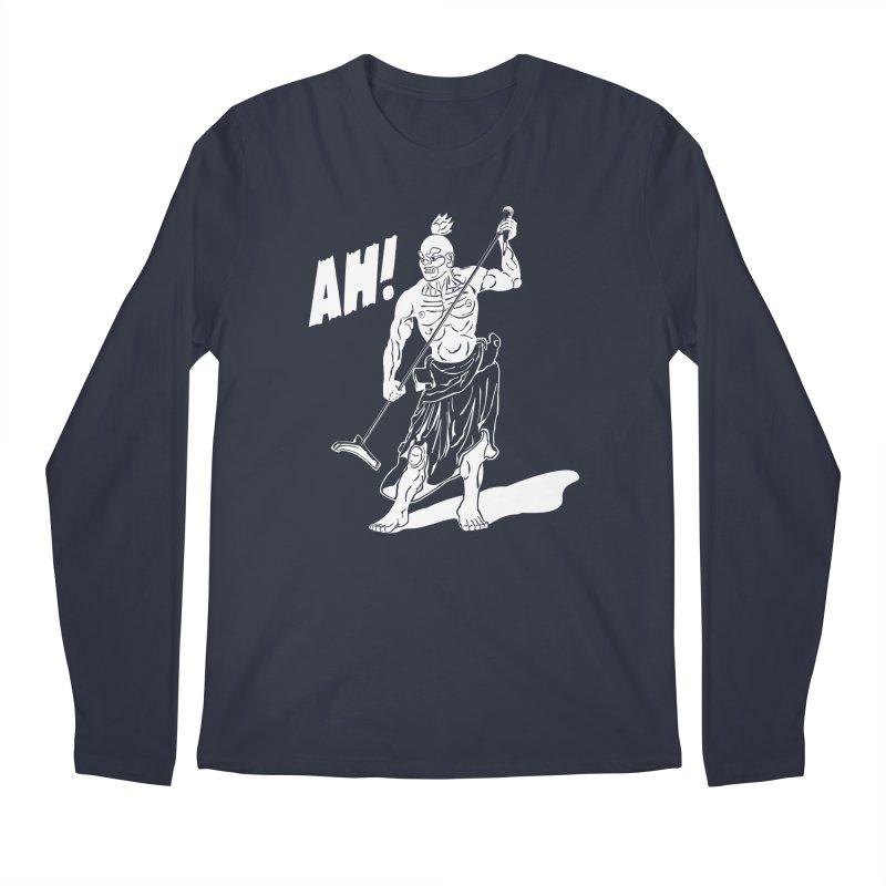 AH! Men's Regular Longsleeve T-Shirt by stickysyrups's Artist Shop